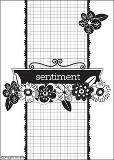 Page Maps Paper Secrets: June 2013 Card Sketch - due Scrapbook Layout Sketches, Card Sketches, Scrapbook Cards, Sketch 2, Scrapbooking Ideas, Card Making Templates, Card Patterns, Shabby, Card Envelopes