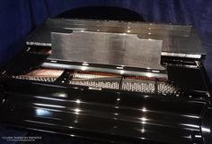 Custom Steinway & Sons piano with carbon fiber finish, Piano of 3 produced in the United States. Piano Restoration, Make A Joyful Noise, Restoration Services, Carbon Fiber, Chevrolet Logo, Woods, Musicals, Things To Come, United States