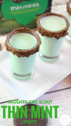 Thin Mint Shots