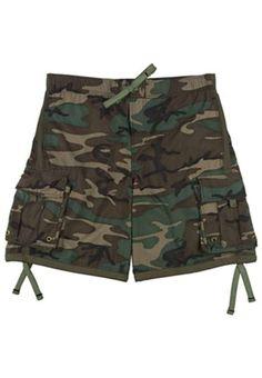 5ef115ca Woodland Camouflage Swim Trunks Women's Summer Fashion, Men's Shorts, Swim  Shorts, Sport Outfits