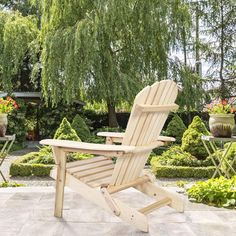 Best Adirondack Chairs for your outdoor patio, balcony, deck, or porch. We love Adirondack Patio Chairs because they are comfortable and beautiful. Rustic Adirondack Chairs, Adirondack Rocking Chair, Patio Chairs, Outdoor Chairs, Wood Folding Chair, Balcony Deck, Porch, Elegant, Modern