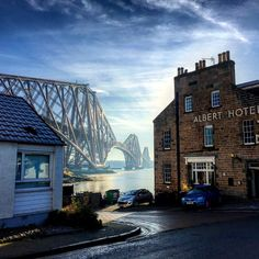North Queensferry, Fife, Scotland, myself and my wife went here to the Aquarium and we had a drink in the Albert Hotel..
