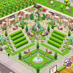 #FoodStreetGame Food Street Game, Hayday Farm Design, Farm Layout, Map Games, Hay Day, Isometric Art, Sims House, Restaurant Design, Game Design