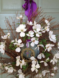 Great ideas on how to bring the color purple into your home for Lent.