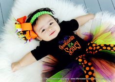 I'm so spooktacular its scary tutu........Great for Halloween,photo props and dress up. $29.99, via Etsy.
