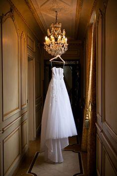 french wedding on a chandalier