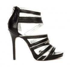 Makenna open toe sandal - Black