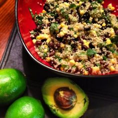 Zesty Avocado Lime Quinoa