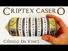 Criptex o Cryptex del código Da Vinci hecho con materiales reciclados | Manualidades