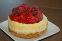 How To Make Mini Cheesecakes: A Step By Step Guide.  http://akirchner.hubpages.com/_minichessecakes/hub/How-To-Make-Mini-Cheesecakes-A-Step-By-Step-Guide