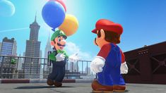 Super Mario Odyssey Is Getting New Content With Luigi's Balloon World