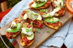 Inspired by the bush, these avocado, artichoke and tomato chutney toasts true blue Aussie fare.