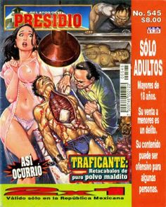 ¡Historietas Perversas!: Relatos De Presidio, No. 545