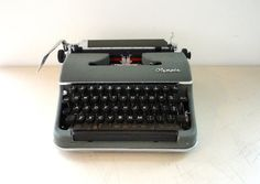 Olympia De Luxe SM3 Typewriter Works Great Looks Great by KimBuilt, $70.00