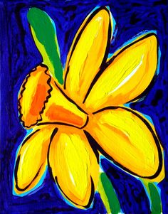 trendy ideas for flowers drawns yellow Diy Painting, Painting & Drawing, Watercolor Paintings, Original Paintings, Rock Painting, Spring Art, Art Party, Painting Inspiration, Art Images