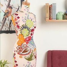 !!! Dressform from Urban Outfitters feat. Summer Totem print from Anna Maria Horner (Loulouthi collection).