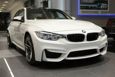 F80 BMW M3 in Alpine White at Abu Dhabi Motors - http://www.bmwblog.com/2014/04/24/f80-bmw-m3-alpine-white-abu-dhabi-motors/