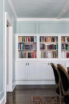 62 Ideas Home Office Built Ins Ikea Apartment Therapy Living Room Decor On A Budget, Ikea Hack, Diy Apartments, Home Renovation, Bookcase Diy, Built In Bookcase, Furniture Design, Ikea Built In, Ikea Bedroom
