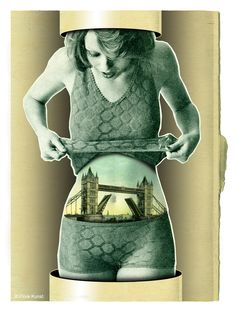"""Belly bridge"" by Flore Kunst."