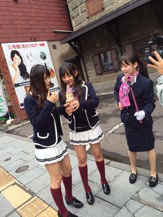 Nagisa Shibuya x Shu Yabushita x Chihiro Kawakami  https://twitter.com/Shu__1202/status/645961342164168705