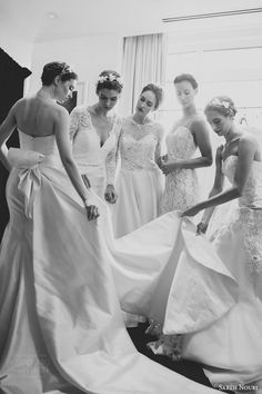 Sareh Nouri Bridal Spring 2016 Wedding Dresses | Wedding Inspirasi