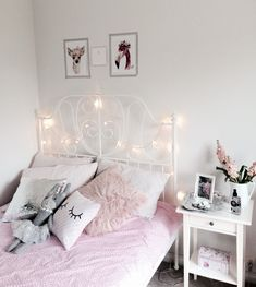 New Cost-Free Style In several dormitories Ikea rooms are very happy to be seen, as they offer numerous alternatives for Bedroom Wall Designs, Room Ideas Bedroom, Home Decor Bedroom, Girls Bedroom, Bedroom Furniture Makeover, Cute Room Ideas, Aesthetic Bedroom, My New Room, Girl Room