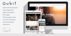 Qubit - Responsive MultiPurpose HTML5 Template