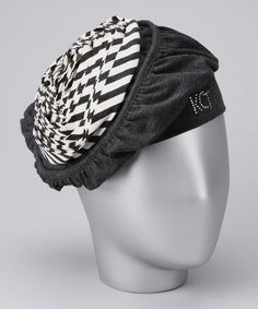 Love this Charcoal Swirl Beret on #zulily! #zulilyfinds