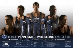 This is Penn State...Wrestling Lives Here. Good luck PSU studs!