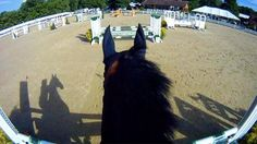 awesome video of a children's jumper at Chagrin Valley Hunter Jumper Classic - from the horse's back! cute interview, too!