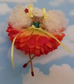 fairy pixie doll ornament
