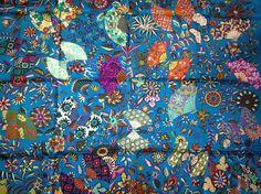 Fleurs et Papillons de Tissus