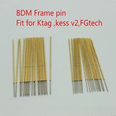 40pcs ECU Programmer Chip Tool BDM Frame Pin Needles Support BDM100 Ktag Kess | eBay