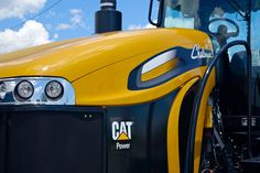Challenger, powered by Cat #AGCO #Farming