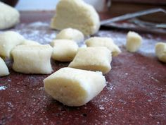 Gnocchi recipe - these were super yum with a roasted tomato sauce.