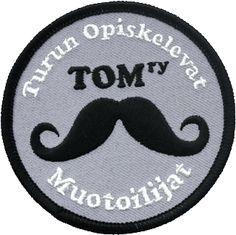TOM ry:n virallinen haalarimerkki