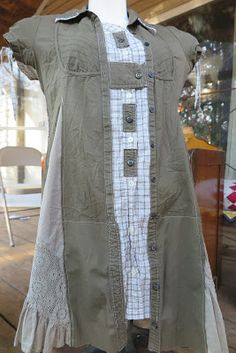 Today I want to share this adorable repurposed tunic dress. It's a plus sz XL 14/16 and the top can fit up to a 42C. $112