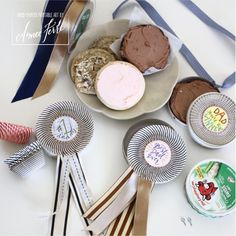 Champion Dad Cookie Medals and Award Ribbons- Genius idea!!!