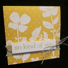 stampin up wildflower meadow card ideas - Google Search