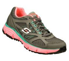 Skechers-Womens-AlignmentFullEffect-PinkGray on Supershoes.com