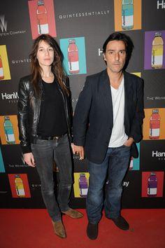 Charlotte Gainsbourg & Yvan Attal
