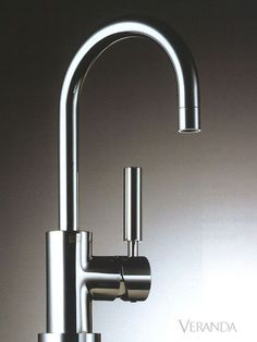 """""""I love Dornbracht's fixtures, especially the Tara Classic series. They're beautiful in their simplicity and work very well for modern kitchens. They're also just so comfortable. Modern Kitchen Sinks, Kitchen Taps, Kitchen Fixtures, Plumbing Fixtures, Modern Kitchen Design, Bathroom Fixtures, Modern Kitchens, Bathrooms, Plumbing Emergency"""
