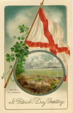 Beautiful Vintage St. Patrick's Day greeting