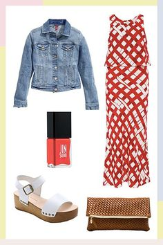 5 Perfect Outfits For L.A. Beach Weddings  #refinery29  http://www.refinery29.com/beach-wedding-guest-outfits