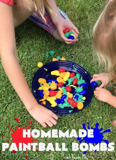 Homemade Paintball S Science Activities For Kids