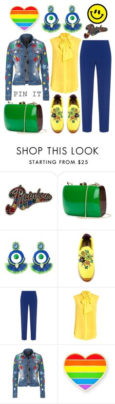 """""""Pin it with love"""" by na-pan ❤ liked on Polyvore featuring Marc Jacobs, Rocio, Ricardo Rodriguez, Dolce&Gabbana, Antonio Berardi, Moschino and Philipp Plein"""