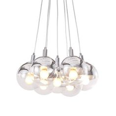 Shining Clear Ceiling Light - reminds me of one the bff and I saw hanging over a bath tub!