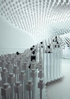 Retail Installation in the Odin store in NYC _ by Snarkitecture _