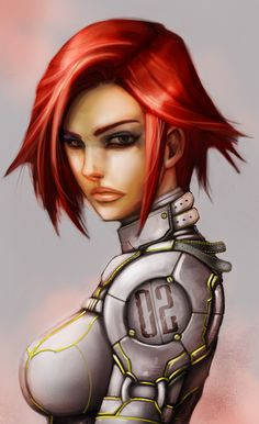 SP: Sci-fi girl concept 1 by *JNickBlack on deviantART