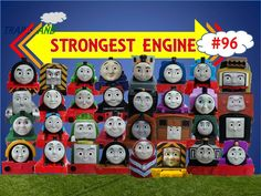 The World's STRONGEST ENGINE Trains #96 - Thomas and Friends for Children